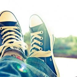 Rédaction SEO contenu planifié pieds relax converse