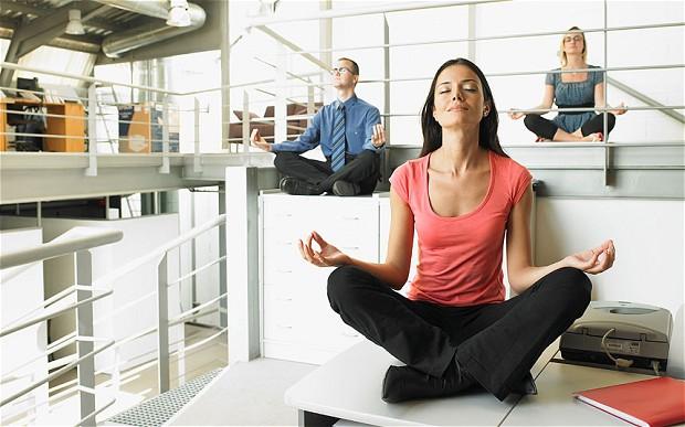 Redaction SEO - yoga au travail relax